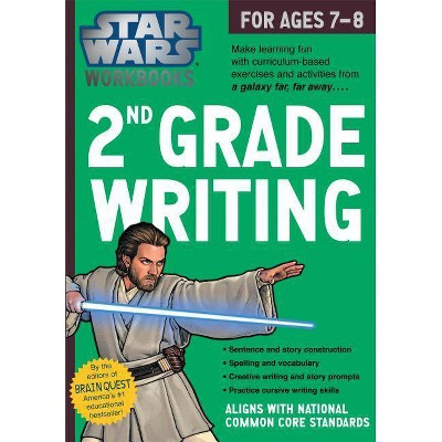 Star Wars 2nd Grade Writing, for Ages 7-8 by Workman Publishing (Paperback)