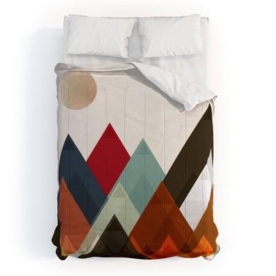 Brian Buckley Pepper Moon 100% Cotton Comforter Set - Deny Designs