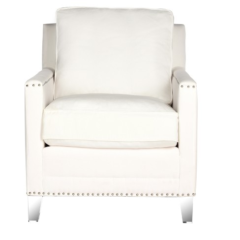 Hollywood Glam Tufted Club Chair - Safavieh - image 1 of 5
