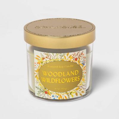 4.1oz Lidded Glass Jar Woodland Wildflowers Candle - Opalhouse™