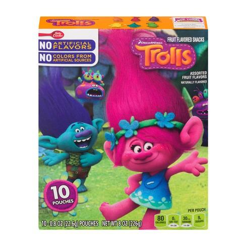 betty crocker fruit flavored trolls 8oz target