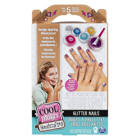 Cool Maker Handcrafted Glitter Nails Activity Kit Makes 5 Manicures ...