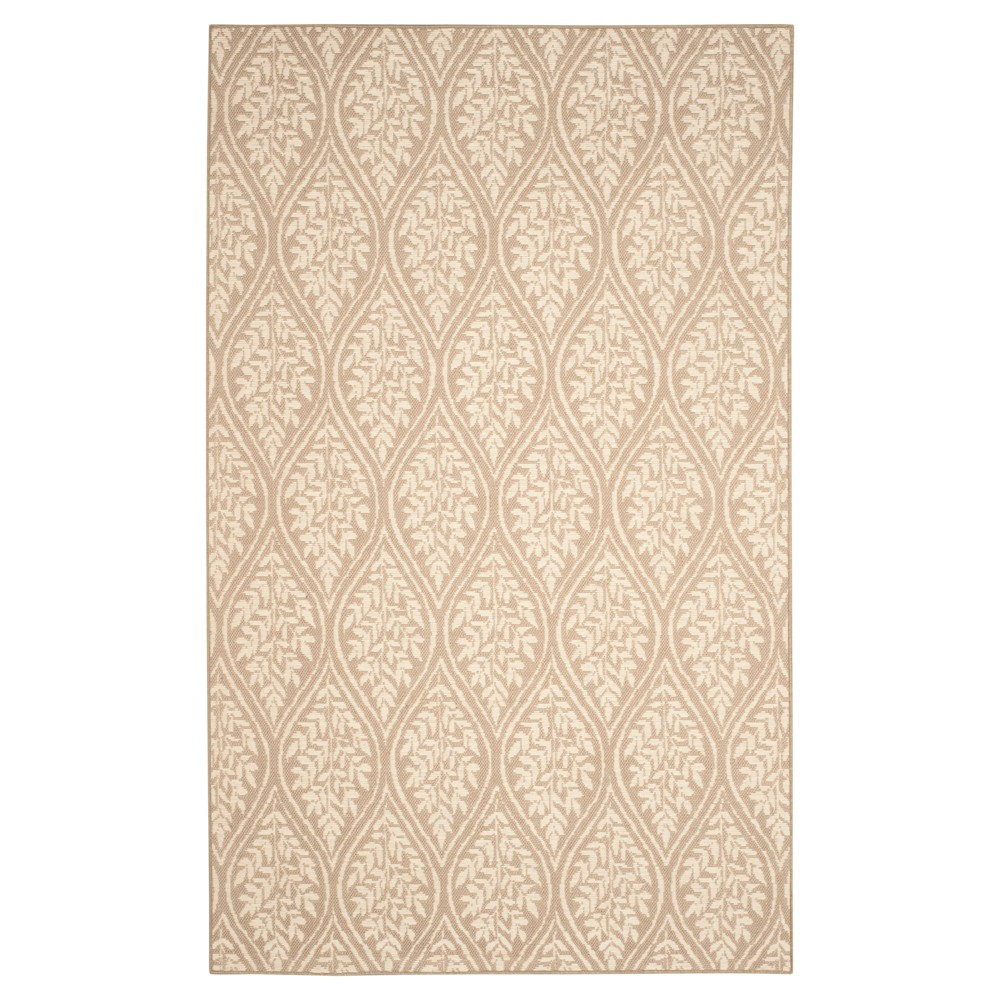 Vinnie Area Rug - Sand (Brown) / Natural (8' X 11') - Safavieh