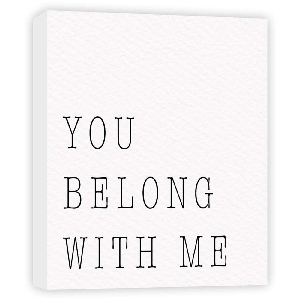 11 34 X 14 34 You Belong With Me Decorative Wall Art Ptm Images