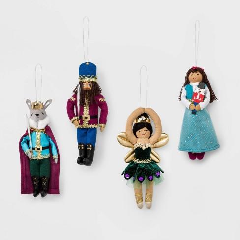 4ct Royal Character Christmas Ornament - Wondershop™ - image 1 of 2