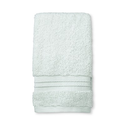 Spa Stripe Accent Hand Towel Aqua - Fieldcrest®