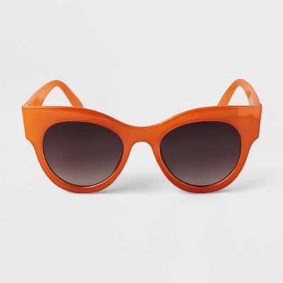 Women's Cateye Sunglasses - A New Day™ Orange
