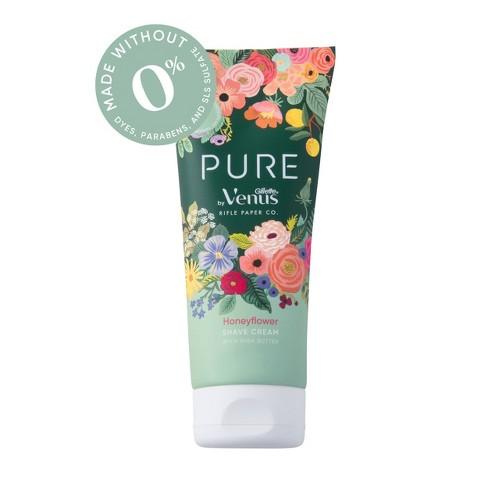 Rifle Paper Co. + Venus Pure Honeyflower Shave Cream - 6oz - image 1 of 4