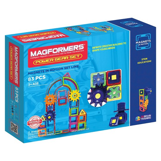 Magformers Magnets in Motion - 83Pc image number null