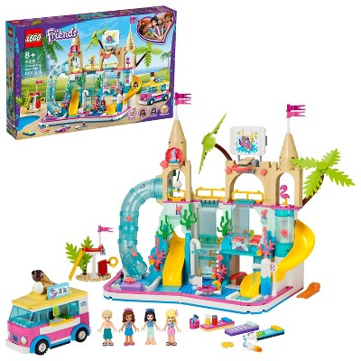 LEGO Friends Summer Fun Water Park Set Adventure Toys Inspire Hours of Creative Play 41430