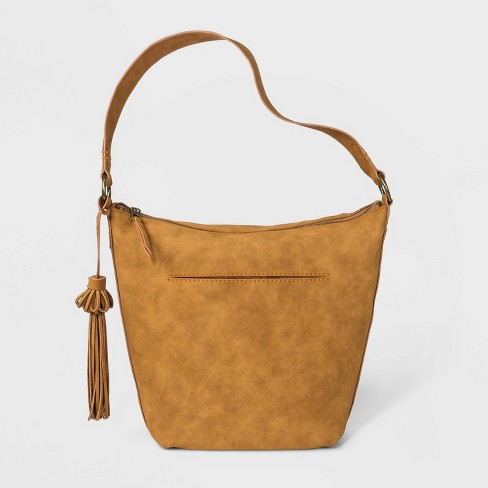 Hobo Handbag With Fringe - Universal Thread™ - image 1 of 3