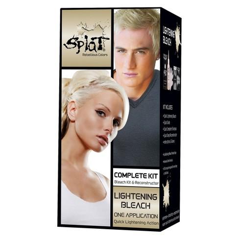 Splat Hair Bleach And Color Kit Lightening Bleach 1 Kit Target