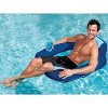 SwimWays Spring Float SunSeat Floating Inflatable Swimming Pool Lounge Chair - image 2 of 2