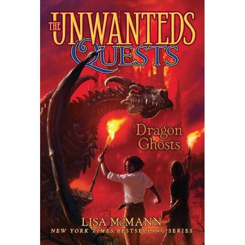 Dragon Ghosts - (Unwanteds Quests) by  Lisa McMann (Paperback) - image 1 of 1