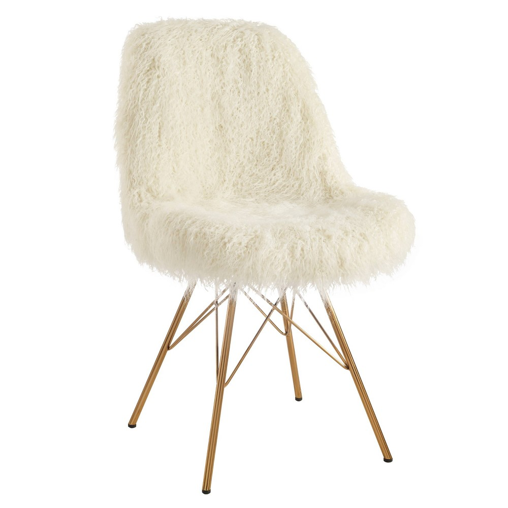 Remy Flokati Chair White - Linon Remy Flokati Chair White - Linon Gender: Unisex. Pattern: Solid.