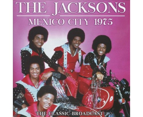 Jacksons - Mexico City 1975 (CD) - image 1 of 1