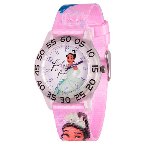 Kids' Disney Princess Tiana Watch - Purple - image 1 of 2