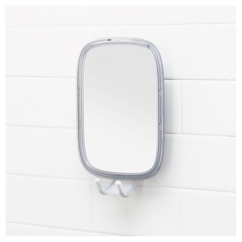 Suction Fogless Mirror White Oxo Softworks