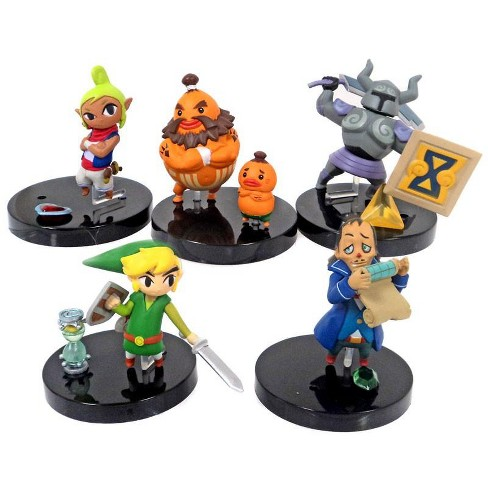 The Legend of Zelda Gacha Set of 5 2-Inch PVC Figures - image 1 of 1