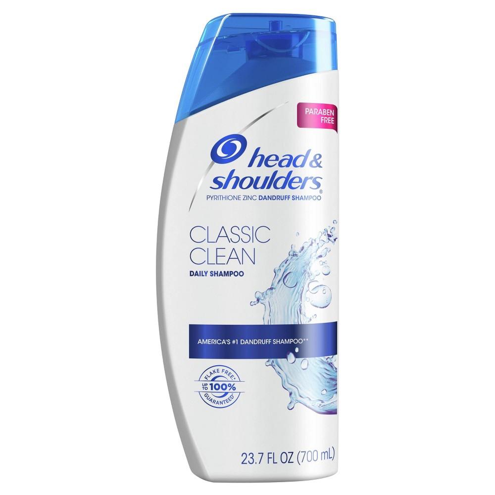 Head And Shoulders Classic Clean Daily Use Anti Dandruff Paraben Free Shampoo 23 7 Fl Oz