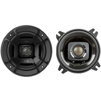 "Polk Audio DB402 4"" 135W 2 Way Car/Marine ATV Stereo Speakers Black"