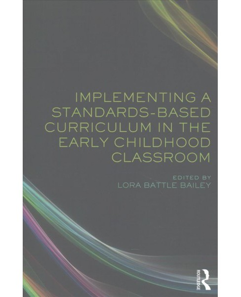 Implementing a Standards-based Curriculum in the Early Childhood Classroom (Paperback) - image 1 of 1