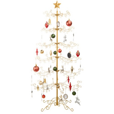 Best Choice Products Wrought Iron Ornament Display Christmas Tree w/ Easy Assembly, Stand - image 1 of 4