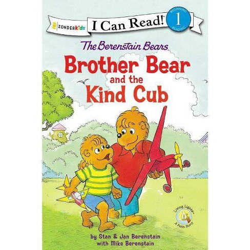 The Berenstain Bears Brother Bear and the Kind Cub - (I Can Read! / Berenstain Bears / Living Lights) - image 1 of 1