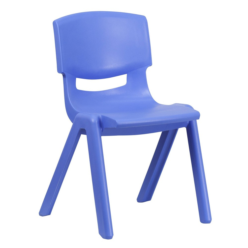 Image of Large Stacking Student Chair - Blue - Belnick, Adult Unisex