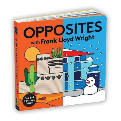Opposites with Frank Lloyd Wright - by  Mudpuppy (Board Book)