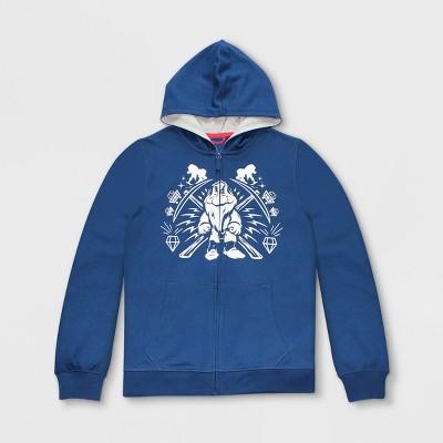 Men's Disney Snow White & the Seven Dwarfs Grumpy Zip-Up Hooded Sweatshirt - Blue - Disney Store
