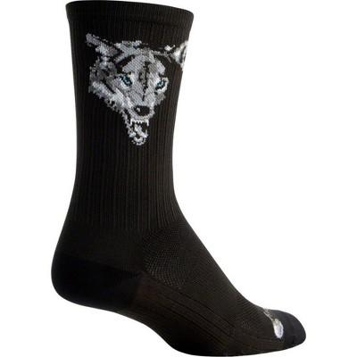 SockGuy SGX Deep Sock Black//Blue LG//XL