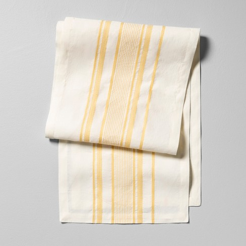 Table Runner Stripe Golden Lotus - Hearth & Hand™ with Magnolia - image 1 of 2