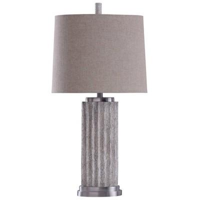 Esme Table Lamp Brushed Nickel - StyleCraft