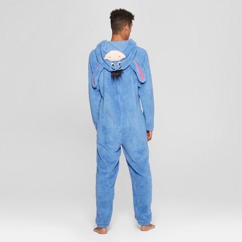 7e21d17024d5 Men s Winnie The Pooh Eeyore Novelty Union Suit - Blue   Target