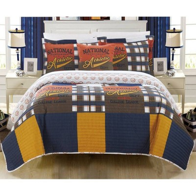 4pc Full Cousy Quilt Set - Chic Home Design
