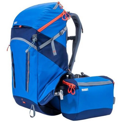 MindShift rotation180deg. Horizon 34L Backpack with Beltpack for DSLR Camera, Lenses, Flashes, 13  Laptop and 10  Tablet, Tahoe Blue - image 1 of 4