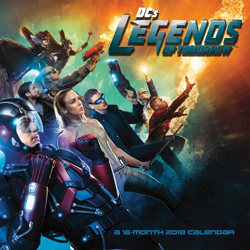 2018 Legends of Tomorrow Wall Calendar - Trends International - image 1 of 4