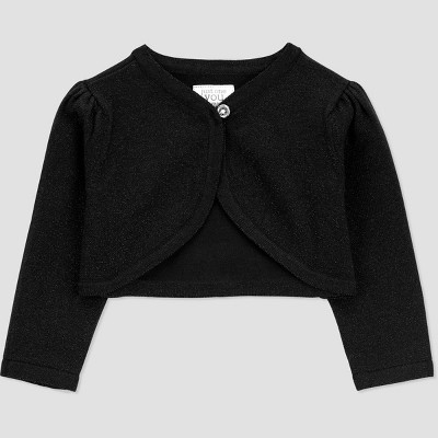Baby Girls' Cardigan - Just One You® made by carter's Black 12M