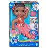 Baby Alive Shimmer 'n Splash Mermaid Baby Doll - Black  Hair - image 2 of 4