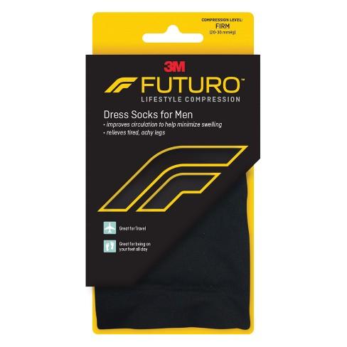 a93e178894f FUTURO Men s Dress Socks For Improved Circulation