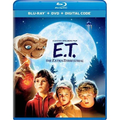 E.T. The Extra-Terrestrial (Target Exclusive) (Blu-ray + DVD + Digital)