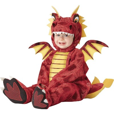 Baby Dragon Costume Halloween Red 18-24M