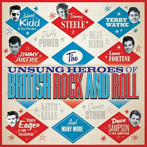 Various - Unsung Heroes Of British Rock And Rol (CD) - image 1 of 1
