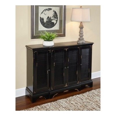 Superieur Fianna Shutter Console Cabinet Distressed   Powell Company : Target