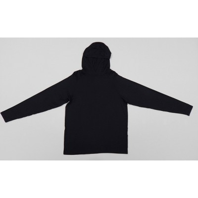Hanes Men's Hooded Athletic Pullover - Black