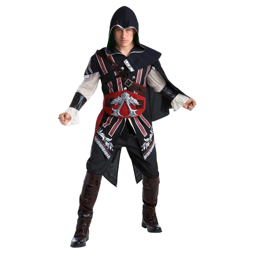 Image of Halloween Men's Assassin's Creed Ezio Deluxe Costume Large, MultiColored