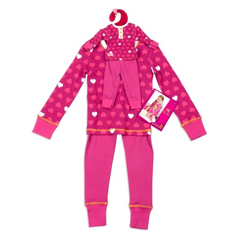 Our Generation® Me & You Outfit - Pajama Hearts - Size 8-10 - image 1 of 3
