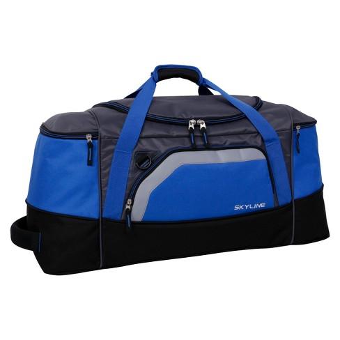 "Skyline 28"" Duffel Bag - Blue - image 1 of 4"