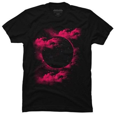 The Black Hole Mens Graphic T-Shirt - Design By Humans